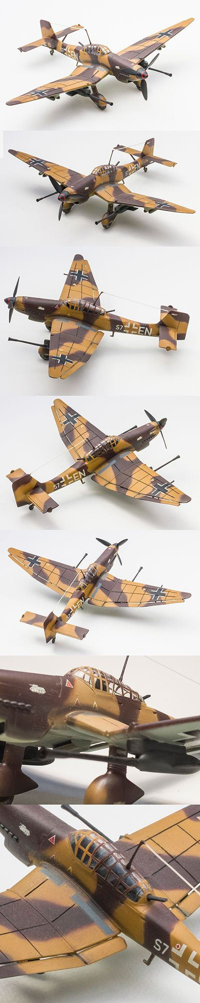 Stuka 1/72 Scale by Korhan AKBAYTOGAN