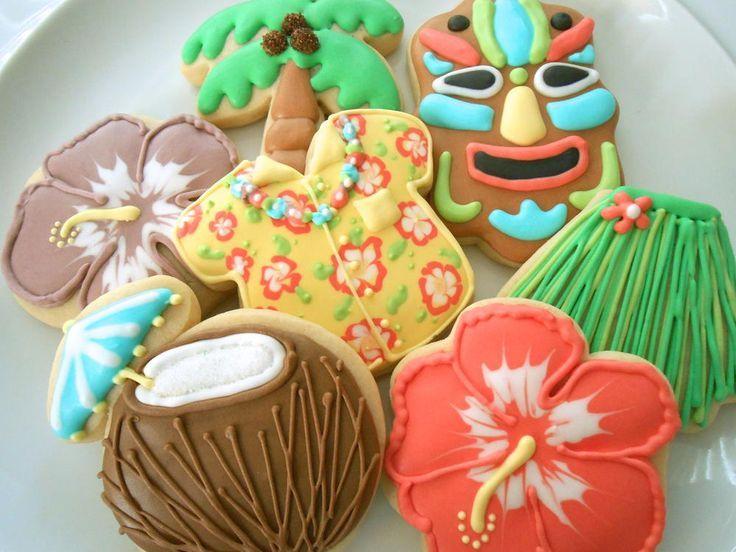 Luau Cookies Más