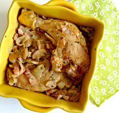 J'adore le poulet, et cette recette me le fait aimer encore plus! Un poulet tendre, avec une sauce goûteuse...miam! Testez ce poulet aux champignons!