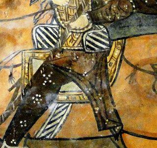 Nyereg (Freskó, Nabk) - Hagyomány és múltidéző