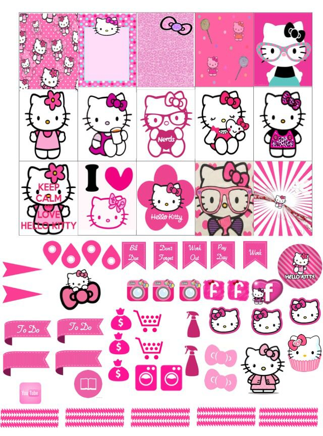 25 Best Ideas About Hello Kitty Printable On Pinterest