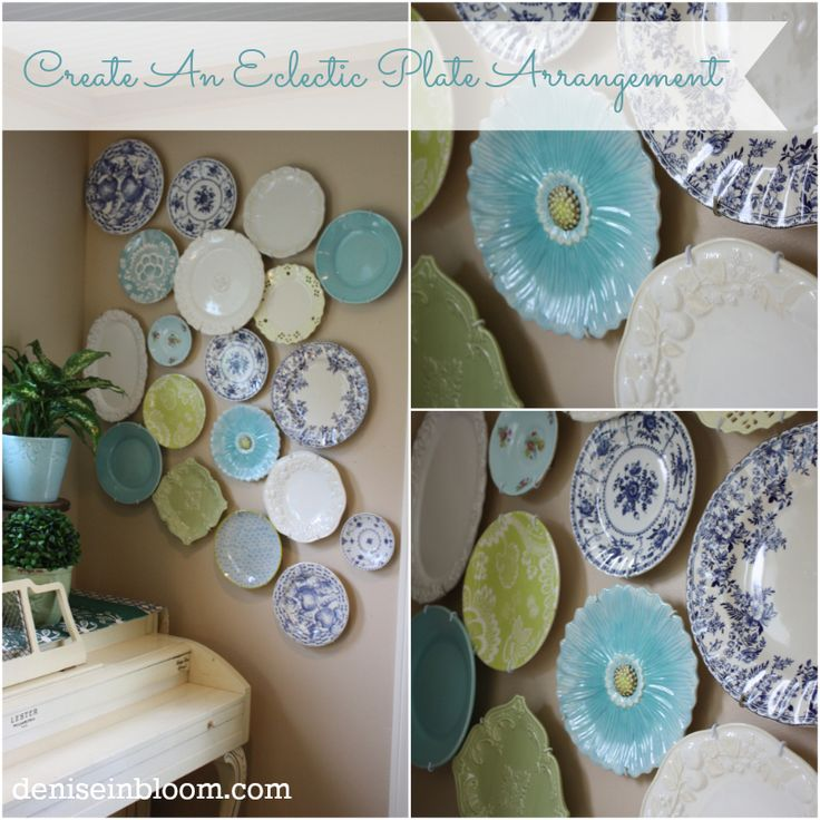Plate Walls :: Eclectically Vintage - Kelly's clipboard on Hometalk