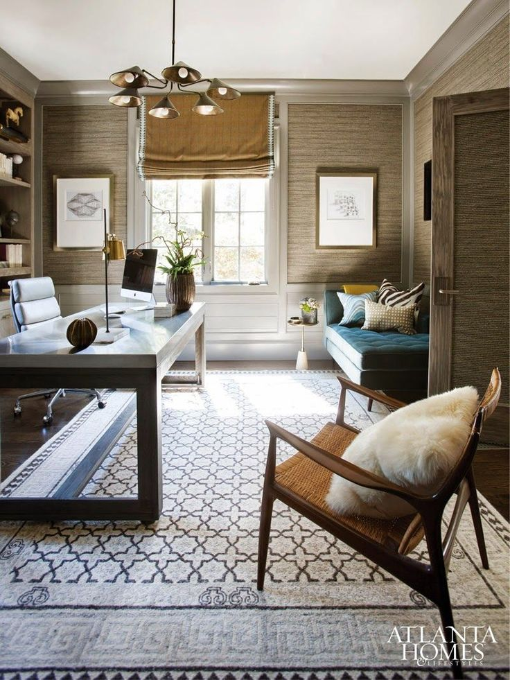 This home (by Brian Watford) is the perfect blend of masculine influence, incredible texture and easy going, refined design. Every space is balanced and impeccably laid out with well placed pops of color throughout. Loving the wallpaper and print choices too! (all photos from Atlanta Homes) HighFashionHome.com – The Premier Destination for Home Decor, Fashion, and Gifts. Share:http://www.highfashionhome.com/blog/2015/04/masterfully-masculine/