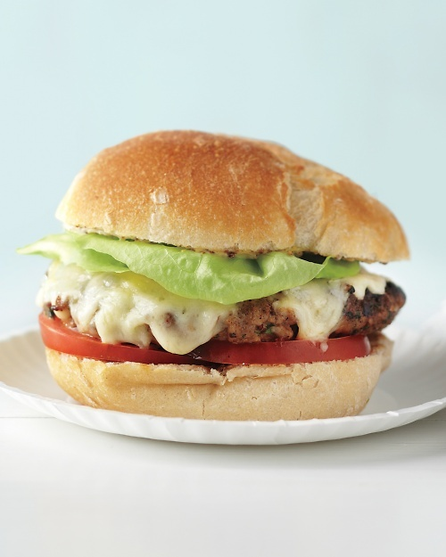 Turkey-Cheddar Burgers - Made these on 6/6/12. The husband and kid weren't thrilled with them (they don't seem to like healthy versions of traditionally bad for you foods), but I really liked them. Replaced mustard with Worcestershire sauce.
