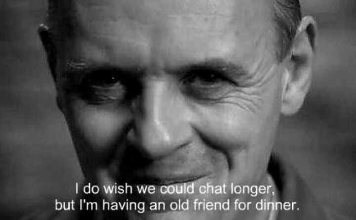 anthony hopkins silence of the lambs quotes - Google Search