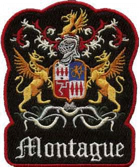 This is the Montagues crest that resembls the famliy of Romeo in the story Romeo and Juliet