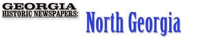 North Georgia Historic Newspapers