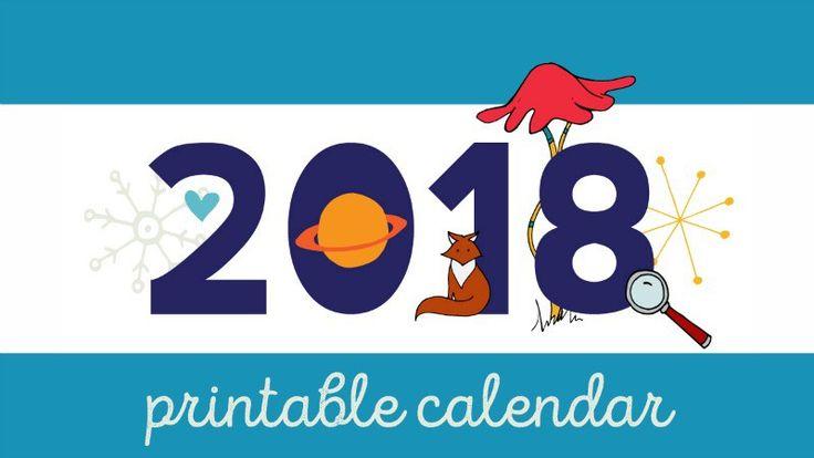 2018 Teacher Calendar