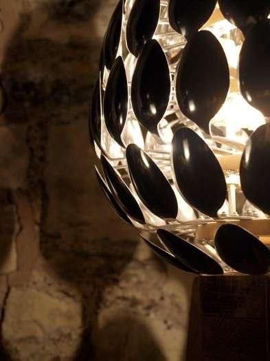 Cutlery created lights spoon lamplighting