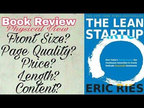 THE LEAN STARTUP in hindi/urdu ERIC RIES BOOK REVIEW