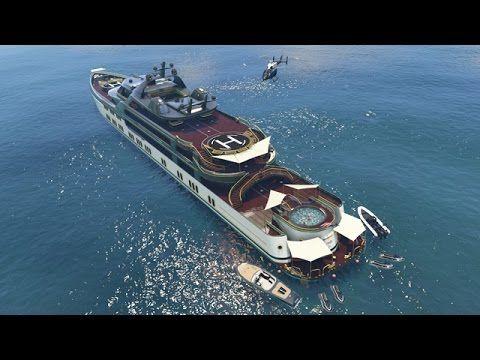 GTA 5 Online - NEW $10,000,000 SUPER YACHT & CUSTOMIZATION GUIDE! (GTA 5...