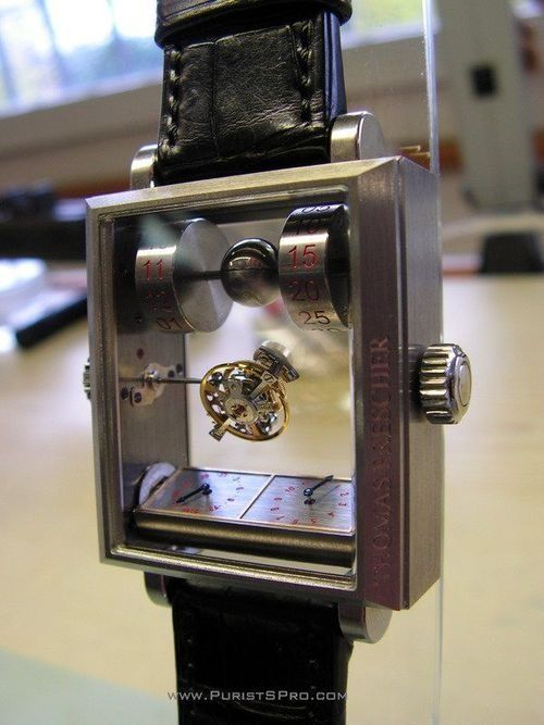 Double-Axis Tourbillion watch is mysterious, amazing