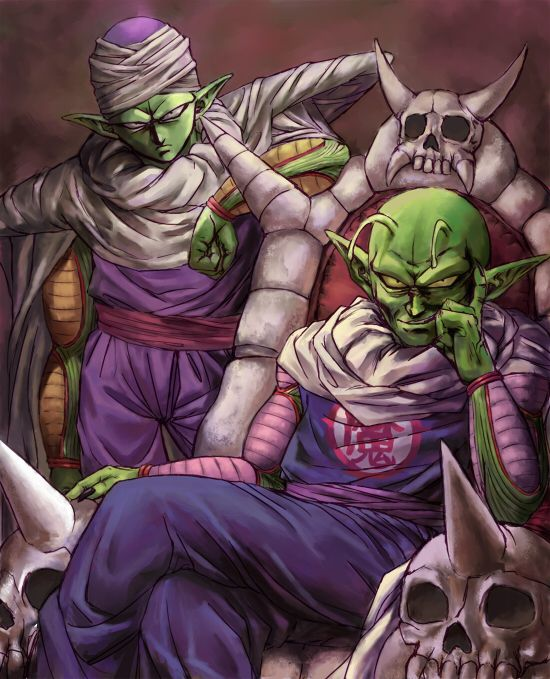 Piccolo and Piccolo Daimaō  #Painting