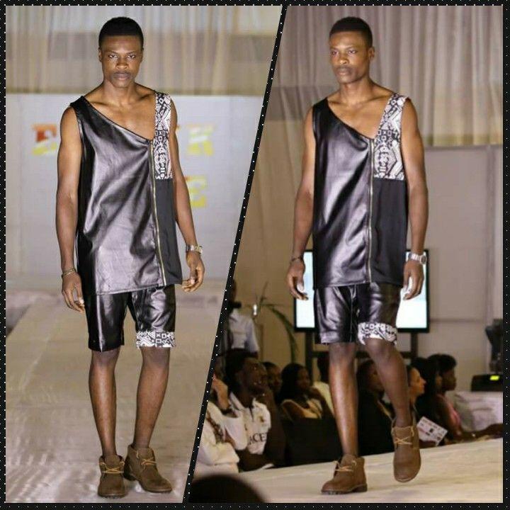 Styliste: Carlos Desaules Model: Yves keurtiss #EthnikShow.. #AgenceKwayoModel