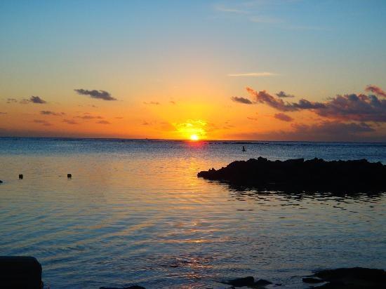 tramonto dalla spiaggia (Silvia Q, Sep 2012) Meraviglioso - Le Canonnier - Mauritius
