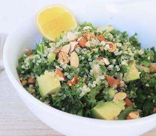 Kale, Quinoa