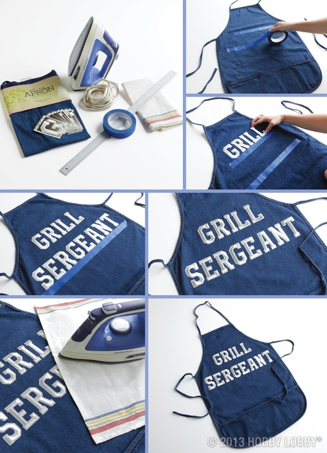 Dad may cook a lot or not very often. Whenever he's in the kitchen, make him feel like one million bucks with this personalized apron.