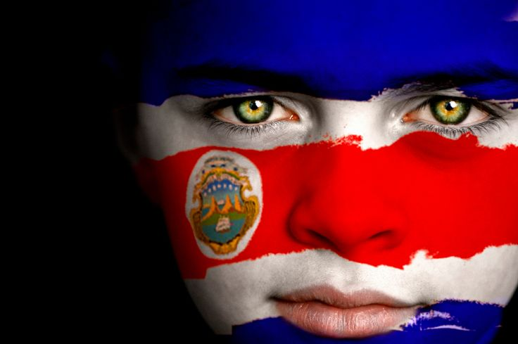 Cool interpretation of the Costa Rican flag