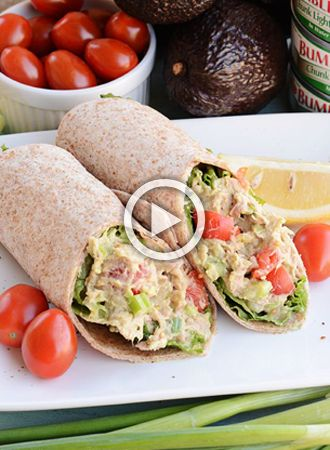 Lunch tip: Italian tuna wrap