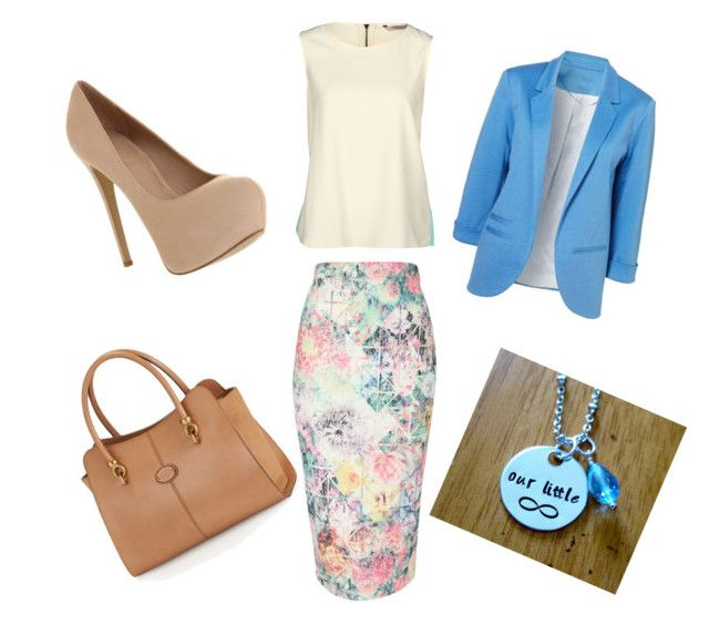 """Interview"" by keiramae ❤ liked on Polyvore featuring Jane Norman, Darling, Office and Tod's"