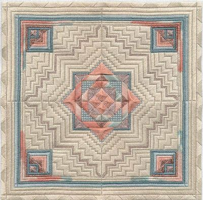 Needlepoint Taos A Structured Geometric Southwestern Design by Dakota Rogers | eBay