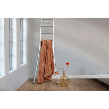 Heckett & Lane plaid Remo - cognac - 150x220 cm | Leen Bakker