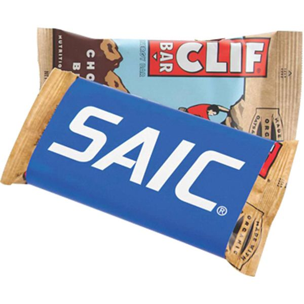 "Our Clif Bar (R) is perfect for active clients who like a healthy snack in between workouts. Full color graphics are available on the outside of the wrapper, with the option of a one-color inside imprint. The original packing dimensions are 4 1/2"" x 2 1/2"" x 3/4"" while the cover size is 4 1/2"" x 7"" when opened. Choose from assorted flavors and make this your next promotion. Give your customers the fuel they need to succeed!"