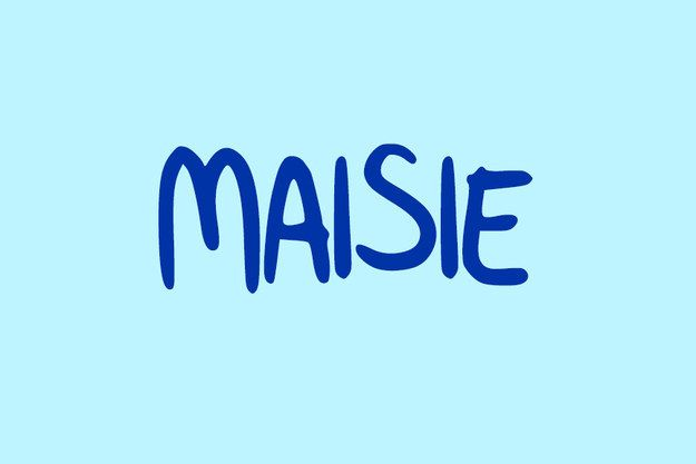 I would spell is Mazie. My favorite name!!