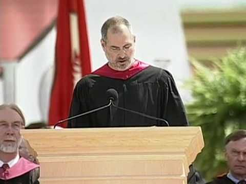 Steve Jobs' Stanford speech to students