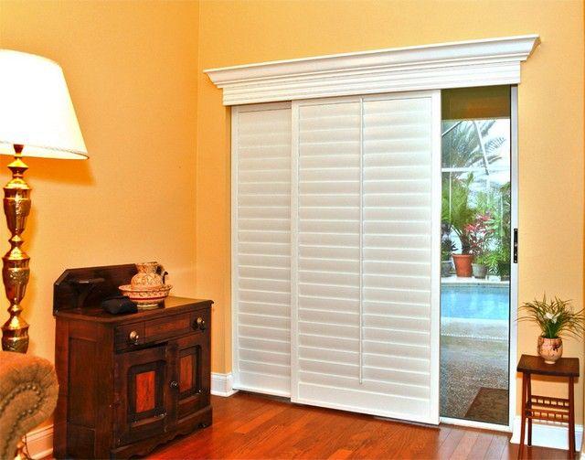 Blinds Or Drapes For Sliding Glass Doors Window