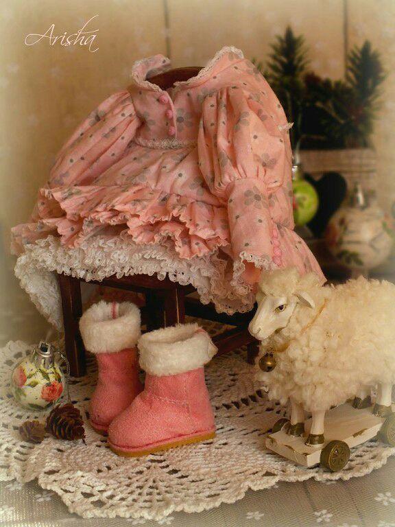 Купить Одежда и аксессуары для куклы . - платье для куклы, обувь для куклы, ярмарка мастеров, одежда для кукол
