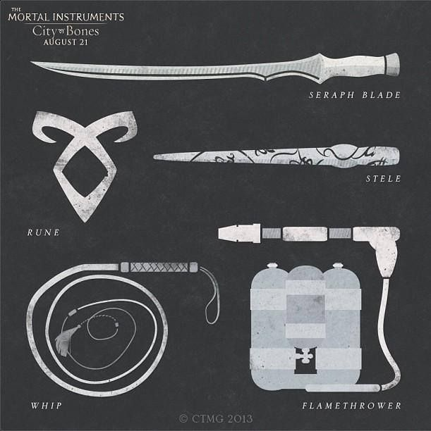 shadowhunter weapons... | Books, movies, tv-series and ...