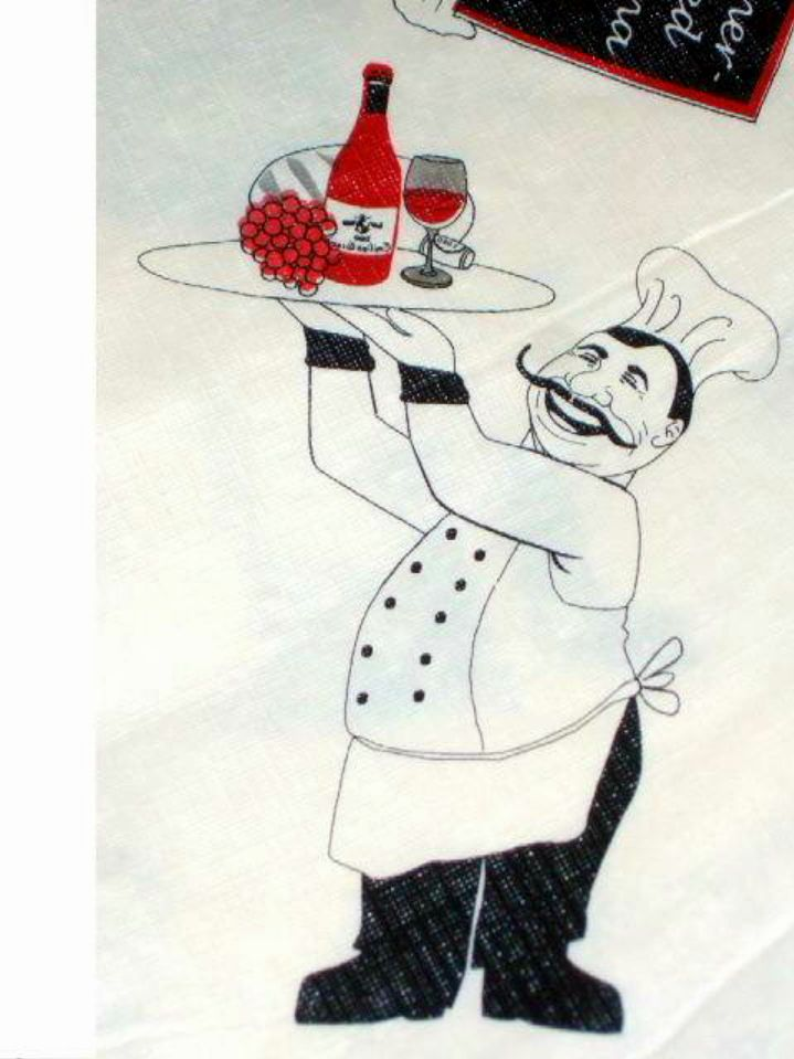 Decorate Your Fat Chef Themed Kitchen With This White