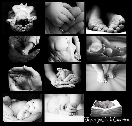 Cute baby collages - Click image to find more Kids Pinterest pins
