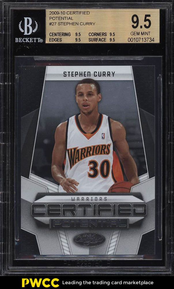 2009 Panini Certified Potential Stephen Curry Rookie Rc 500