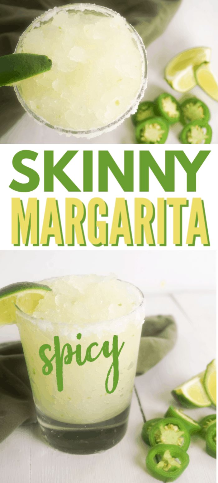 Skinny Jalapeno Margarita | Recipe | Spicy skinny ...