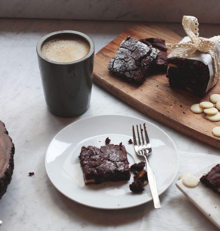 Zoella | White Chocolate Chunk Brownies