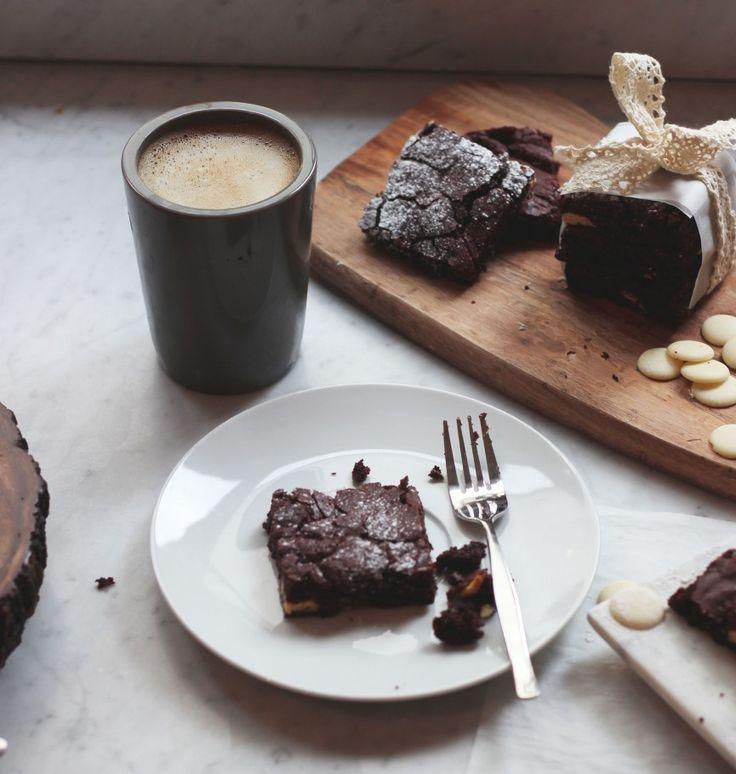 Zoella | White Chocolate Chunk Brownies | mmmmmm... yummie! ♥