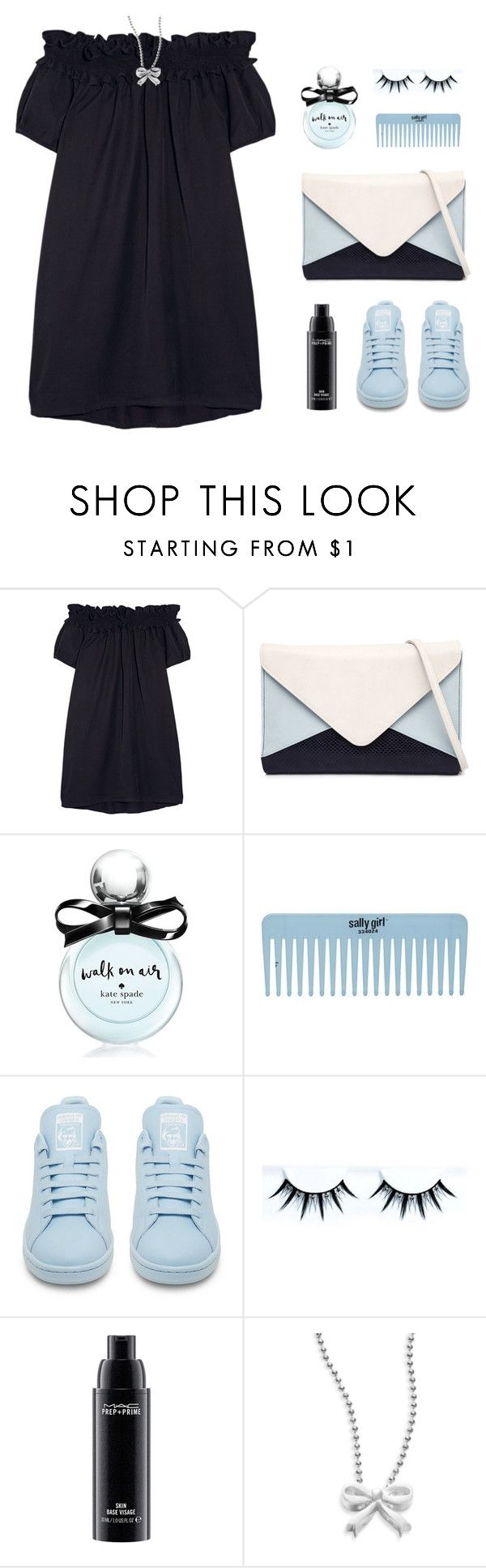 """""""Blind Date"""" by sweetpastelady ❤ liked on Polyvore featuring Clu, Jendi, Kate Spade, adidas, MAC Cosmetics, Alex Woo, women's clothing, women, female and woman"""