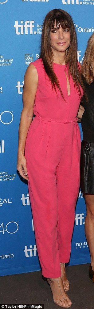 Sandra Bullock attended the 'Our Brand is Crisis' press conference in Toronto, Canada on September 12, 2015.