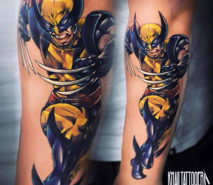 Wolverin tattoo by Khail Tattooer