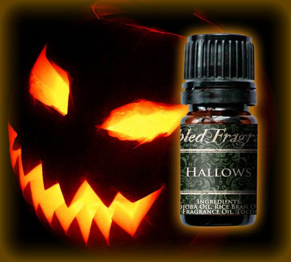 ALL HALLOWS EVE Perfume Oil 5mL Amber Bottle by FabledFragrances, $11.00