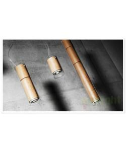 Pendul din lemn design Dress Light Barcelona Etna DV00035 - - Universul luminii | Corpuri de iluminat, lustre