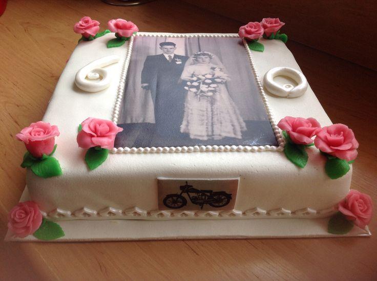 taart 60 jaar getrouwd Foto Taart 60 Jaar   ARCHIDEV taart 60 jaar getrouwd