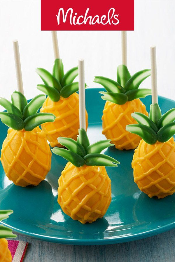 Wilton Parchment Paper With Images Pineapple Cake Pops
