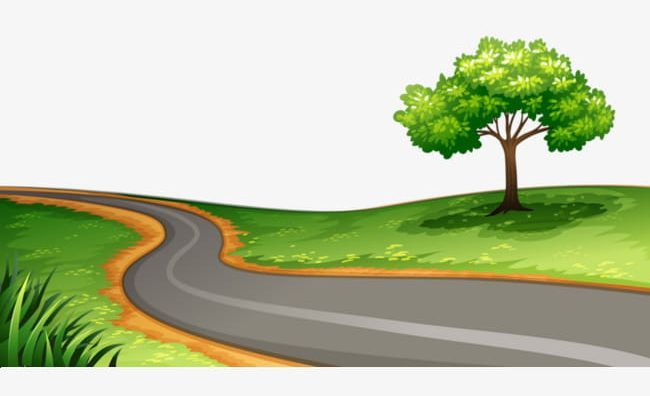 Winding Road Png Greenbelt Highway Road Road Clipart Trees Winding Road Png Road