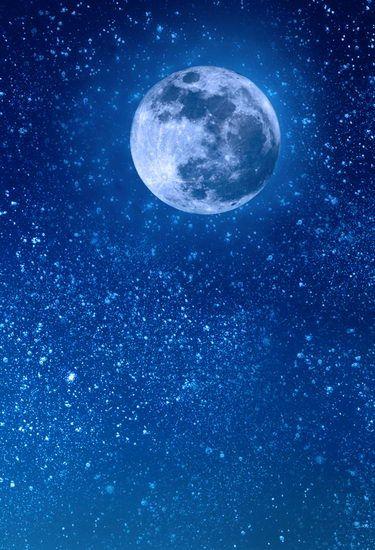 Te koop vinyl 1. 5x 2. 2m fotografie achtergrond nachtelijke hemel vol sterren maan minnaar foto achtergrond bruiloft foto modern 5x7ft hg-031(China (Mainland))