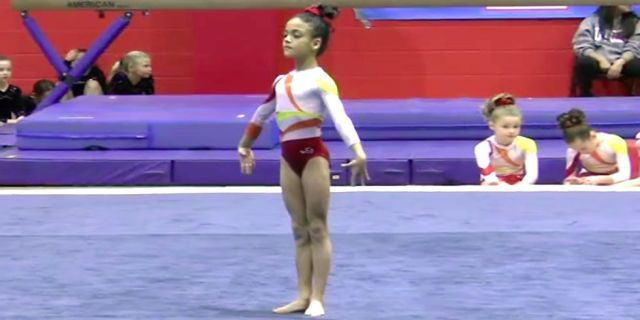 1000 Ideas About Gymnastics Floor Routine On Pinterest