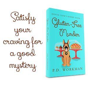 Preorder Gluten-Free Murder now! #amreading #cozymystery #pets #gluten-free