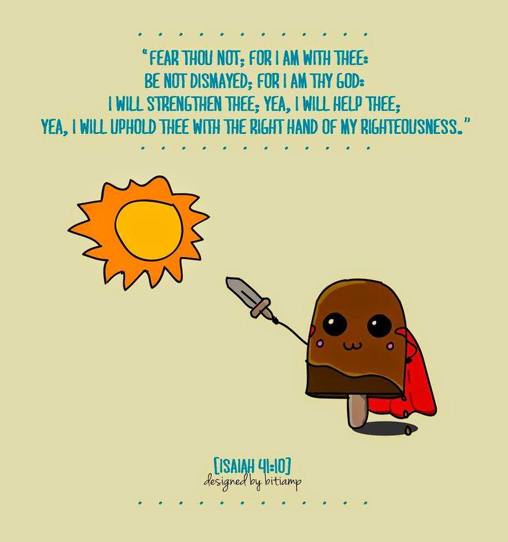 Fear not ... just trust ;)
